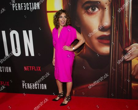"""Stock Photo of Stacey Reiss attends a special screening of Netflix's """"The Perfection"""" at Metrograph, in New York"""