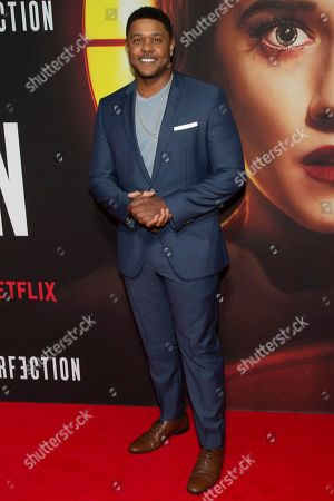 """Stock Photo of Pooch Hall attends a special screening of Netflix's """"The Perfection"""" at Metrograph, in New York"""