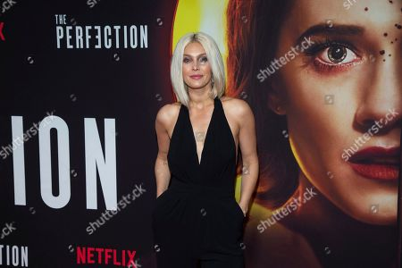 "Stock Image of Alaina Huffman attends a special screening of Netflix's ""The Perfection"" at Metrograph, in New York"