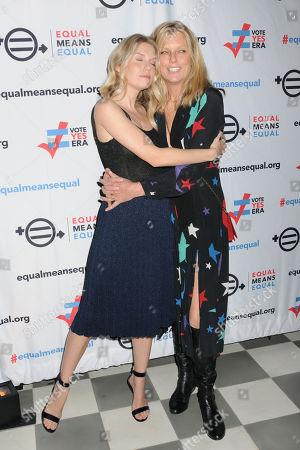 Theodora Richards and Patti Hansen