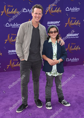 Scott Weinger and Mischa Weinger