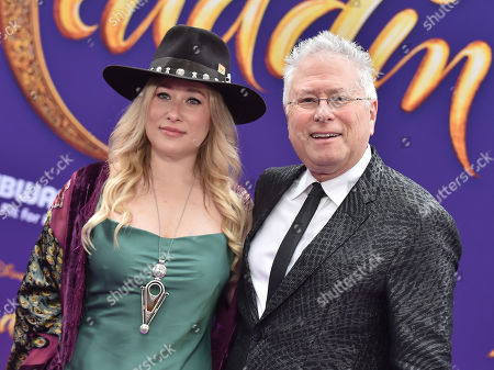 Stock Picture of Anna Rose and Alan Menken