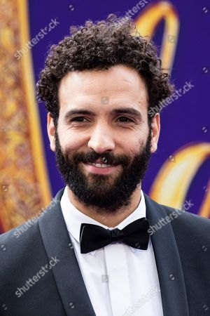 Marwan Kenzari poses on the red carpet during Disney's 'Aladdin' movie premiere at the El Capitan Theatre in Hollywood, California, USA, 21 May 2019. The movie opens in US theaters on 24 May 2019.