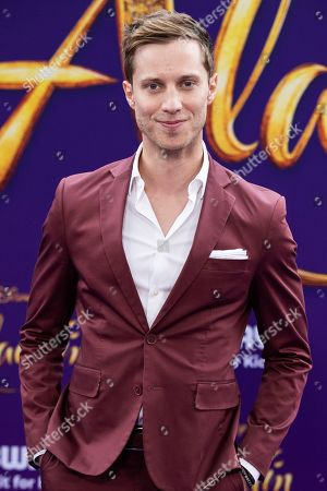 Jonathan Keltz poses on the red carpet during Disney's 'Aladdin' movie premiere at the El Capitan Theatre in Hollywood, California, USA, 21 May 2019. The movie opens in US theaters on 24 May 2019.
