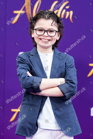 Raphael Alejandro poses on the red carpet during Disney's 'Aladdin' movie premiere at the El Capitan Theatre in Hollywood, California, USA, 21 May 2019. The movie opens in US theaters on 24 May 2019.