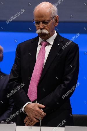 CEO of Mercedes-Benz Cars Dieter Zetsche during the Daimler AG General Meeting in Berlin, Germany, 22 May 2019. The management and shareholders of the automotive engineering company Daimler AG gather in the German capital for the annual general meeting.