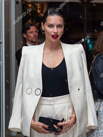 Adriana Lima out and about, 72th Cannes Film Festival