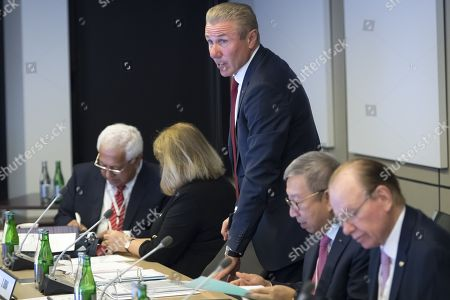 Editorial picture of IOC executive board meeting in Switzerland, Pully - 22 May 2019