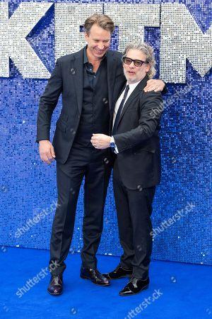 Giles Martin and Dexter Fletcher