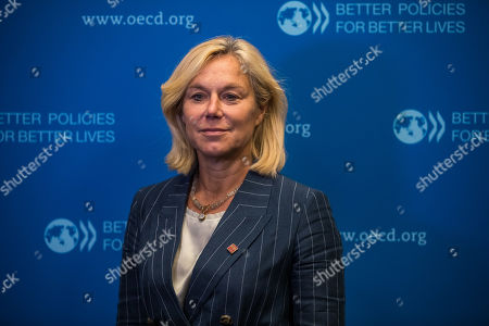 Dutch Foreign trade minister Sigrid Kaag at the Organisation for Economic Co-operation and Development  (OECD) ministerial council meeting on 'Refounding Multilateralism' in Paris, France, 22 May 2019. The OECD Ministerial Council Meeting, will gather leaders and ministers on 22-23 May in Paris, during OECD Week.