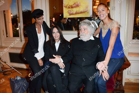 Stock Picture of Sonia Rolland, Nathalie Garcon, Patrick Ales and Noemi Lenoir
