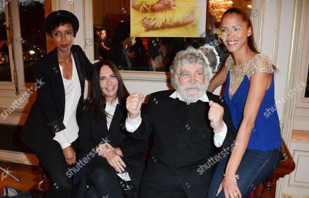 Editorial picture of 'Garde Garcons' Nathalie Garcon book launch, Paris, France - 13 Oct 2014