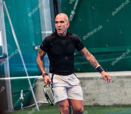 Editorial image of Padel tournament, Milan, Italy - 21 May 2019