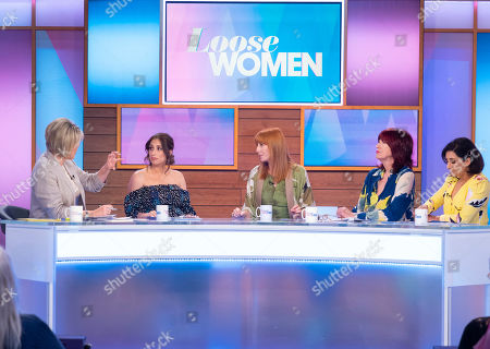 Stock Picture of Ruth Langsford, Stacey Solomon, Yvette Fielding, Janet Street-Porter and Saira Khan