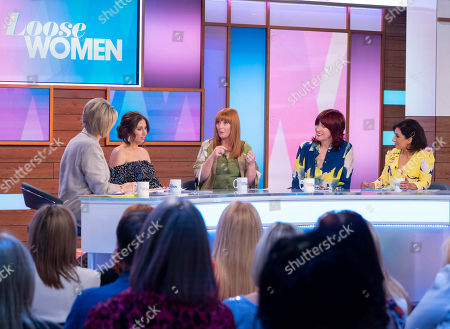 Editorial picture of 'Loose Women' TV show, London, UK - 22 May 2019