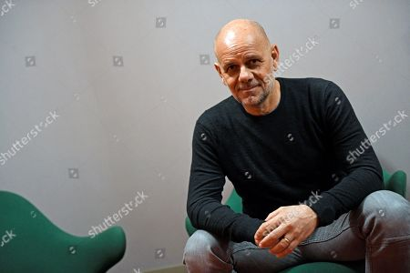 Riccardo Milani poses during an interview with Spanish news agency EFE on the occasion of the release in Spain of his latest film 'Come un gatto in tangenziale' (Like a Cat on a Highway), in Madrid, Spain, 22 May 2019. Milani's popular movie will be premiered in the Spanish cinemas on 24 May.