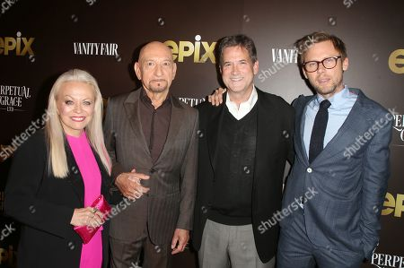 Stock Picture of Jacki Weaver, Sir Ben Kingsley, Michael Wright and Jimmi Simpson