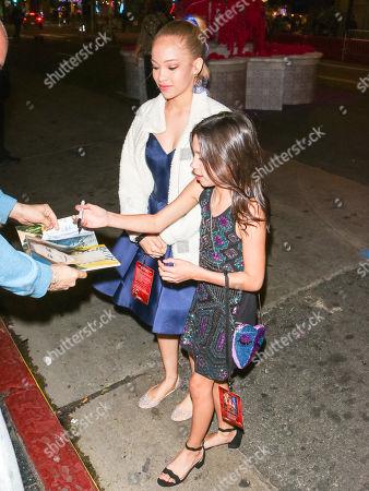 Editorial picture of 'Aladdin' film premiere, departures, El Capitan Theatre, Los Angeles, USA - 21 May 2019