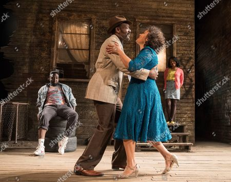 Editorial image of 'King Hedley II' Play performed at the Theatre Royal Stratford E15, London, UK, 22 May 2019