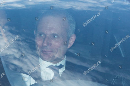 David Lidington enters the Houses of Parliament