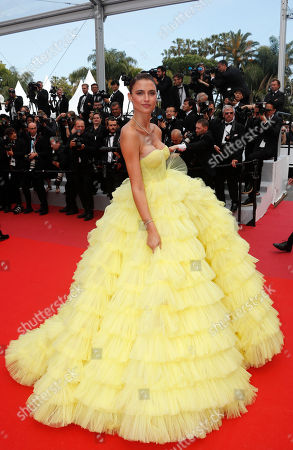 Fernanda Liz arrives for the screening of 'Roubaix, une lumiere' (Oh Mercy!) during the 72nd annual Cannes Film Festival, in Cannes, France, 22 May 2019. The movie is presented in the Official Competition of the festival which runs from 14 to 25 May.