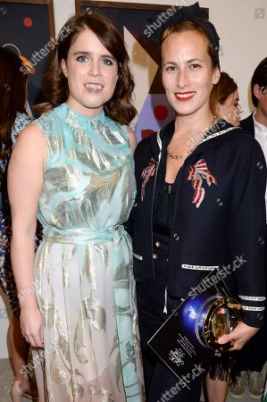 Princess Eugenie and Charlotte Dellal