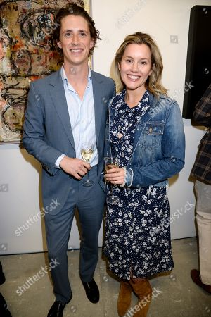 Nick Campbell and Caggie Dunlop