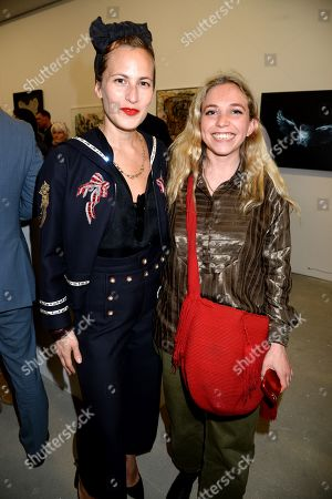 Charlotte Dellal and Ayesha Shand