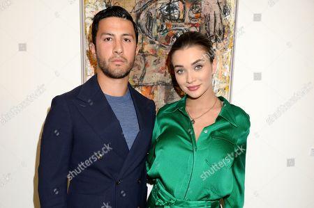 George Panayiotou and Amy Jackson