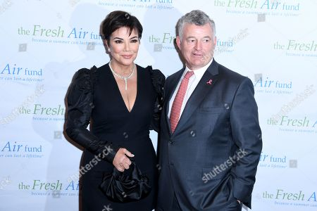 Kris Jenner and William P. Lauder