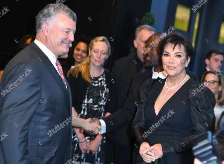 William P. Lauder and Kris Jenner