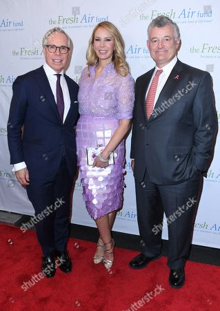 Tommy Hilfiger, Dee Ocleppo and William P. Lauder