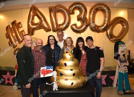 Dee Bradley Baker with Matt Weitzman,Kara Vallow, Brian Boyle, Wendy Schaal, Rachael MacFarlane and Jeff Fischer