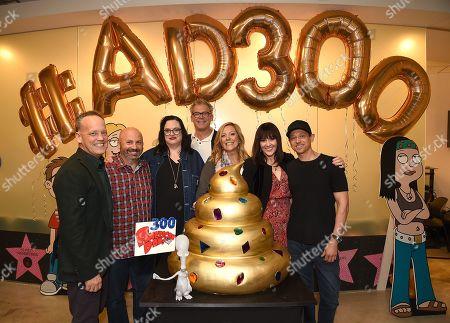 Stock Image of Dee Bradley Baker, Matt Weitzman, Kara Vallow, Brian Boyle, Wendy Schaal, Rachael MacFarlane, Jeff Fischer