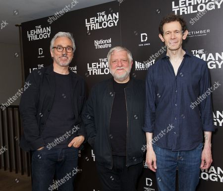 Ben Miles, Simon Russell Beale & Adam Godley