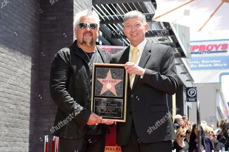 Editorial image of Guy Fieri Honored with a Star on the Hollywood Walk of Fame, Los Angeles, USA - 22 May 2019