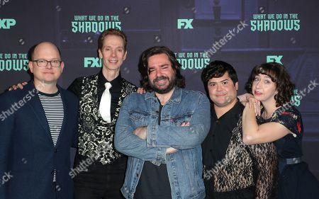 Mark Proksch, Doug Jones, Matt Berry, Harvey Guillen and Kristen Schaal