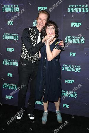 Doug Jones and Kristen Schaal
