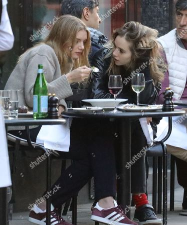 Editorial picture of Suki Waterhouse and Lily Donaldson out and about, London, UK - 22 May 2019