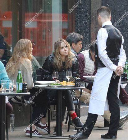 Editorial image of Suki Waterhouse and Lily Donaldson out and about, London, UK - 22 May 2019