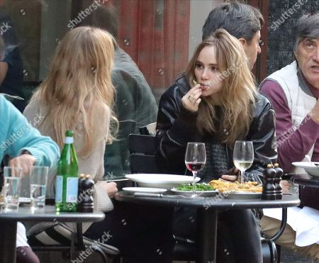 Stock Picture of Suki Waterhouse and Lily Donaldson