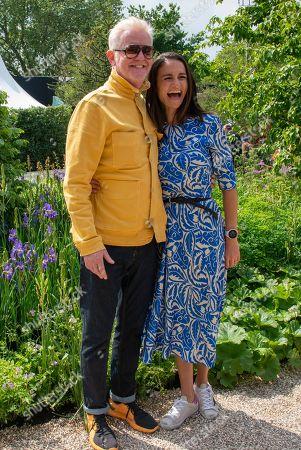 Chris Evans and wife Natasha Evans