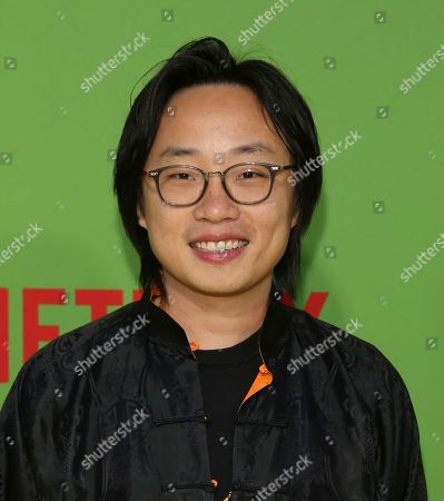 "Jimmy O. Yang arrives at the premiere of ""Always Be My Maybe"", at the Regency Village Theatre in Los Angeles"