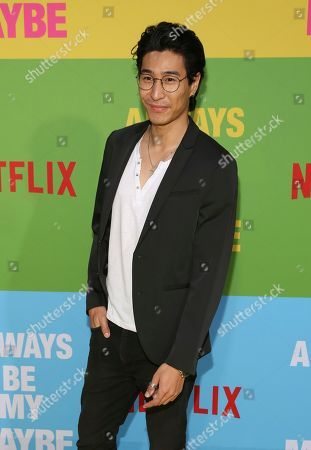 """Chris Pang arrives at the premiere of """"Always Be My Maybe"""", at the Regency Village Theatre in Los Angeles"""
