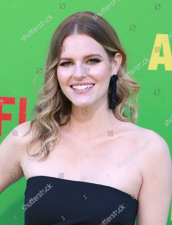 """Chelsey Crisp arrives at the premiere of """"Always Be My Maybe"""", at the Regency Village Theatre in Los Angeles"""