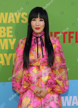 """Vivian Bang arrives at the premiere of """"Always Be My Maybe"""", at the Regency Village Theatre in Los Angeles"""