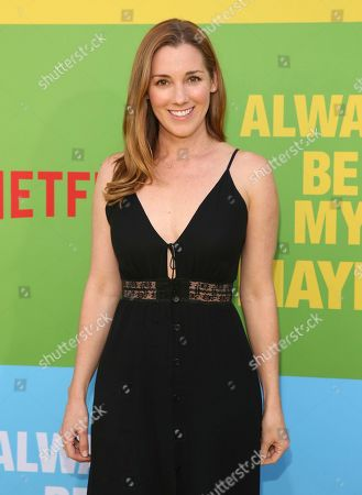 """Carly Craig arrives at the premiere of """"Always Be My Maybe"""", at the Regency Village Theatre in Los Angeles"""