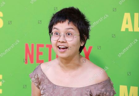 "Stock Image of Charlyne Yi arrives at the premiere of ""Always Be My Maybe"", at the Regency Village Theatre in Los Angeles"