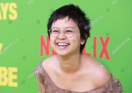 """Charlyne Yi arrives at the premiere of """"Always Be My Maybe"""", at the Regency Village Theatre in Los Angeles"""