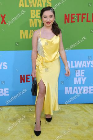 """Ava Cantrell arrives at the premiere of """"Always Be My Maybe"""", at the Regency Village Theatre in Los Angeles"""
